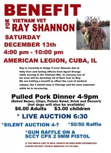Ray Shannon Benefit